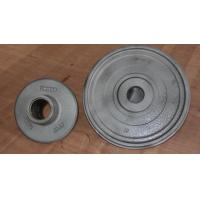 Buy cheap Wheel carbon steel sand casting parts zinc plating by cut and grind gate product