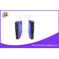 Buy cheap Rfid Barcode Sliding Flap Barrier Gate For Office Buildings , Fully Automatic from wholesalers