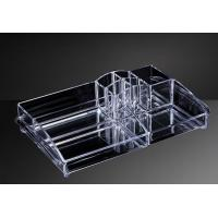 Buy cheap OEM Custom Acrylic Products , Hot Bending Acrylic Cosmetic Display Stand from wholesalers
