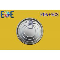Buy cheap Food Grade Pop Can Lids 401# 99mm MR Tinplate Easy Open Can Caps from wholesalers