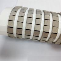 Buy cheap Die Cut Shapes Self Adhesive Strip Soft Conductive Fabric Over Foam EMC EMI Shielding Gasket from wholesalers