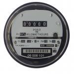 Buy cheap Socket type Electromechanical Energy Meter , inductive single phase watt-hour meters from wholesalers