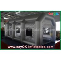 Buy cheap Mobile Inflatable Air Tent / Inflatable Spray Booth With Filter for car cover from wholesalers