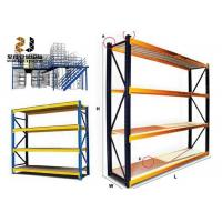 Buy cheap Galvanized Corrosion Protection Narrow Wire Shelving / Industrial Warehouse Racks product