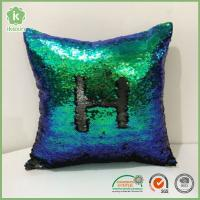 "Buy cheap Square 16"" x 16"" Reversible Sequins Sparkly Mermaid Throw Pillows from wholesalers"
