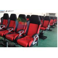 Buy cheap Attractive 4D Cinema System with Pneumatic / Hydraulic / Electric Motion Chairs product