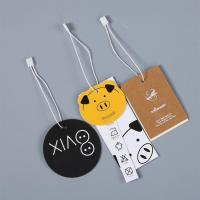 Buy cheap Promotional Hang tags Custom Barcode Printing for Clothing from wholesalers