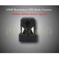 Buy cheap M505 1296P Resolution Police Body Worn Camera with GPS , 11 hours working time product