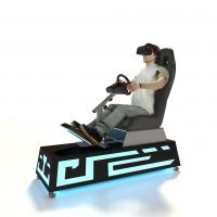 Buy cheap 3 Games VR Racing Simulator , VR Auto Simulator 0.8 Square Meter Operate Area from wholesalers