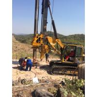Buy cheap KR150C Construction Foundation Drill Rig 52m Max Drilling Depth Borehole Piles from wholesalers