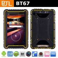 Buy cheap IP67 Waterproof Quad core rugged tablet PC BT67 from wholesalers