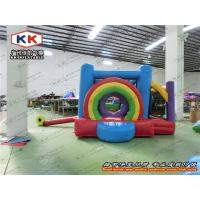 Buy cheap Continually Blowing Inflatable Bouncer , Cute Design Inflatable Jumping Bed from wholesalers