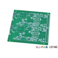 Buy cheap 2 Layers Industrial PCB  FR - 4 Base Material / Dielectric LF-HALS Surface Treatment product