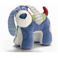 Buy cheap Comfortable Pet Dog Toys Short plush + hemp fabric for puppies from wholesalers