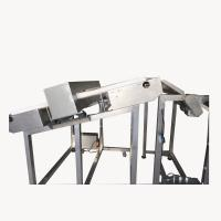 Buy cheap Customized Incline Conveyor Belt Metal Detector For Food Industry Processing Products Sorting from wholesalers