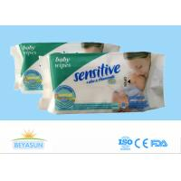 Buy cheap Organic Baby Disposable Wet Wipes Non - Irritating For Cleaning , Logo Custom from wholesalers