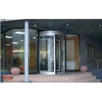 Buy cheap 12mm Aluminum Alloy Automatic Revolving Door For Hotel ISO9001 from wholesalers