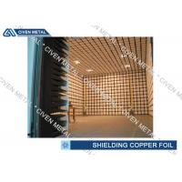 Buy cheap EMI / EMC Copper Shielding Foil / CCL FPC thin copper sheet product