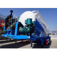 Buy cheap 67cbm 80T Cement Trailer , Dry bulk trucking transportation with LED light from wholesalers