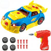 Buy cheap Take Apart Toy Racing Car Kit For Kids – Build Your Own Car Kit Construction Set - 30 Take-A-Part Pieces With Realistic from wholesalers