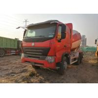 Buy cheap HOWO Heavy Duty Cement Mixer Truck 10 Wheels Euro IV Standard CCC / ISO from wholesalers