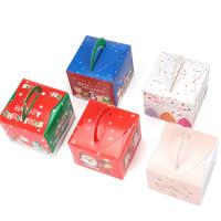 Buy cheap Rectangle Paper Decorative Christmas Gift Boxes , Christmas Wrapping Paper Box from wholesalers