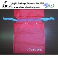 Buy cheap small Durable Food Plastic Bags personalized drawstring bags , Red  from wholesalers