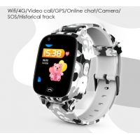 Buy cheap 4G Kids Smart Watch Phone 650mAh GPS + WIFi Positioning One Button SOS Watch from wholesalers
