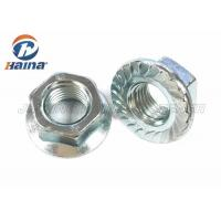 Buy cheap Zinc Plated / Black Hex Head Nuts M16 Carbon Steel Grade 8.8  For Pipeline Connection from wholesalers