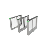 Buy cheap Best Selling Full Automatic High Security Optical Swing Barrier Gate For Hotels Gyms from wholesalers