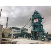 Buy cheap Variable Frequency Feeding Belt Mobile Asphalt Batch Mixing Plant 120 Ton Output Mobile product