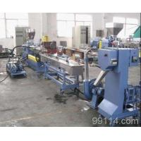 Buy cheap High Capacity low price,TSK95 parallel twin screw extruder strand granule making machine product