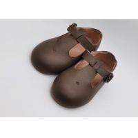 Buy cheap Toddler Dress Shoes Leather Shoes For Child T-Strap Boys Girls School Shoes from wholesalers