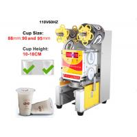 Buy cheap 110V Paper / Plastic Cup Sealing Machine American And European Standard product