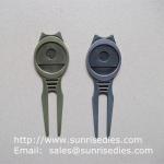 Buy cheap Golfer Divot tools for repairing pitch mark, Wholesale Metal Golf Divot repair tools from wholesalers