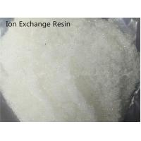 Buy cheap Styrene Ion Exchange Water Treatment Chemicals Strongly Basic Anion Water Purifying from wholesalers