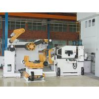 Buy cheap Metal Steel Coil Uncoiler Punching Machine , Pneumatic Feeder Great Performance from wholesalers
