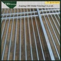 Buy cheap Customized Wrought Iron Picket Fence High Strength For Swimming Pool / Graden from wholesalers
