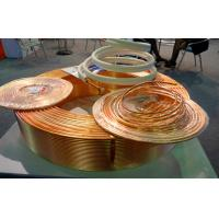 Buy cheap C2200 T1 Split Air Conditioner Copper Pipe / Soldering Copper Pipe from wholesalers