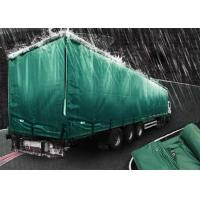 Buy cheap 200gsm Weignt Geomembrane Pond Liner PE Tarpaulin Roll Green Color For Truck Cover product
