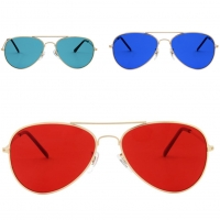 Buy cheap Aviator Sunglasses For Men Polarized Women UV Protection Lightweight Driving Fishing Sports Therapy Mood Glasses from wholesalers