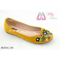 Buy cheap 2014 Manufacturer Wholesale girl's Cheap flat Shoes(ML0516_103) from wholesalers