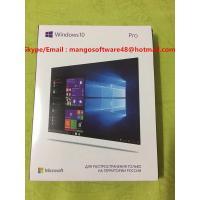 Online Activation  USB 3.0 Russian Language Windows 10 Pro 32BIT 64 Bit Retail  FPP Key