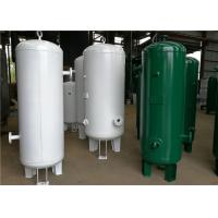 Buy cheap Custom Vertical Air Receiver Tank , Air Compressor Reserve Tank Pressure Vessel from wholesalers