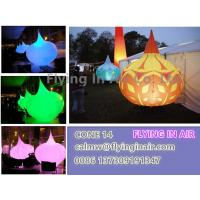 C-21 Big Rain Shape Inflatable Light Cone With LED Light For Decoration