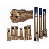 Buy cheap DTH Reverse Circulation Hammer And Bits 17-35 Bar Air Pressure Gold Color from wholesalers