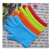 Buy cheap five finger silicone gloves ,silicone oven mitt with five fingers product