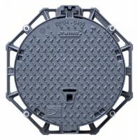 Buy cheap Hinged Pavement Cast Iron Manhole Cover Round Ductile With Locking System from wholesalers