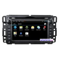 Buy cheap Android 4.0 A\ndroid Car Sat Nav for GMC Sierra Tahoe Suburban GPS Navigation DVD Player Radio from wholesalers