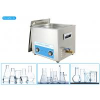 Buy cheap Stainless Steel Tank Ultrasonic Bath Laboratory With Mechanical Heater 500W 30L from wholesalers